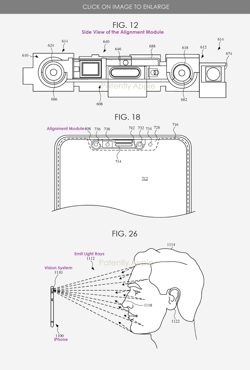2 FACE ID VISION SYSTEM WITH ALIGNMENT MODULE