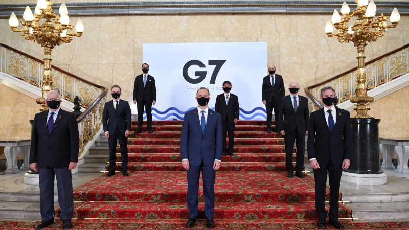 1 cover G7 meeting 2021 in UK