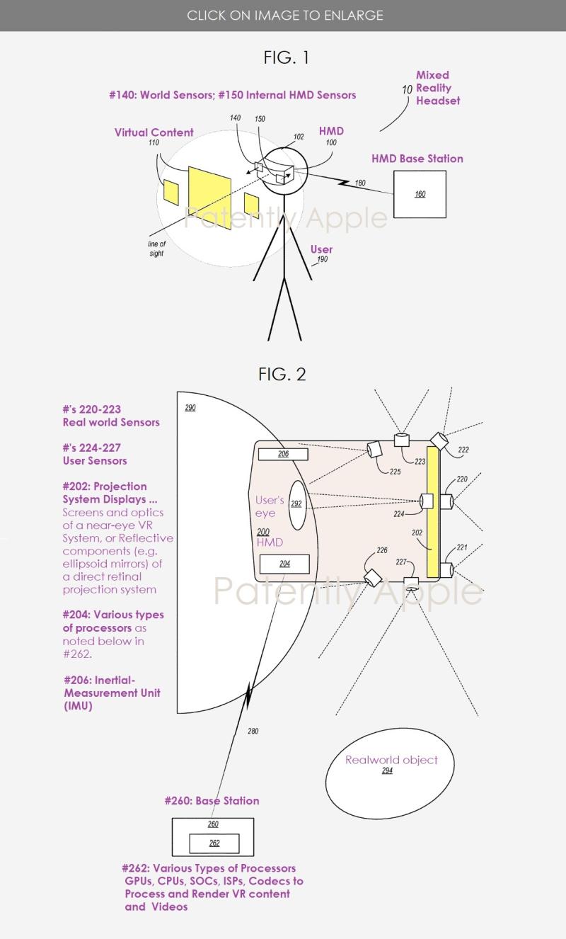 2 apple patent headset