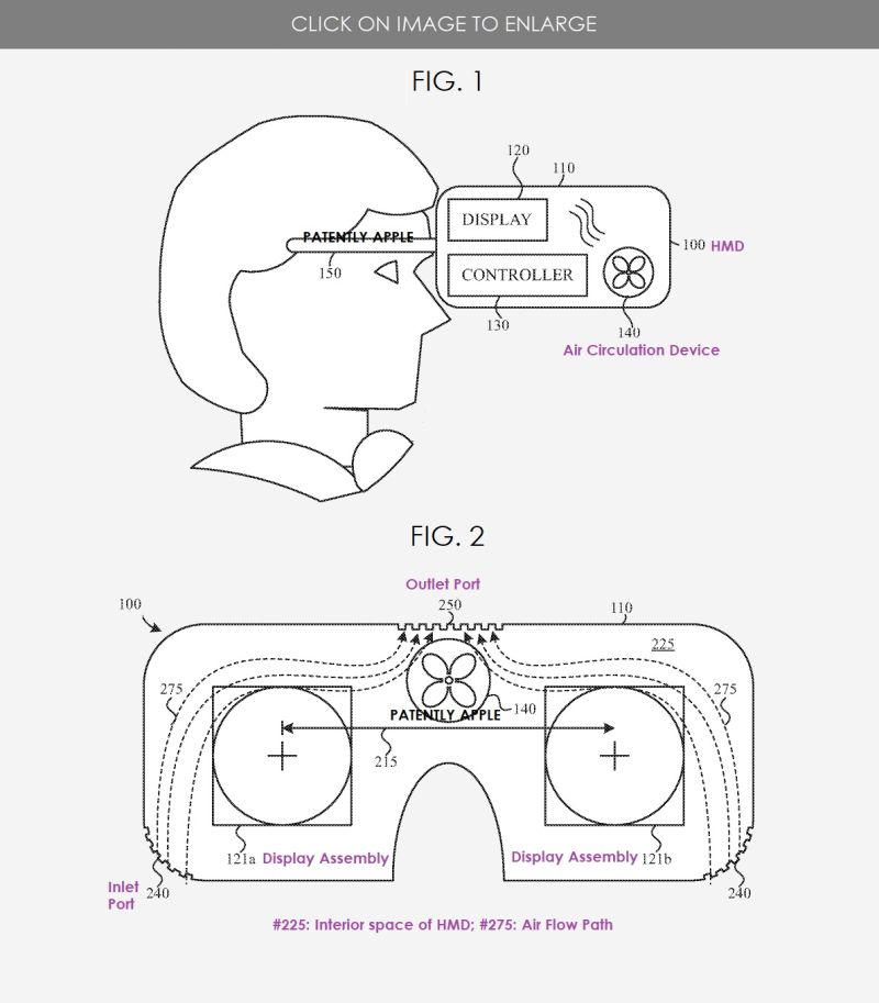 2 Air Flow system for Apple HMD