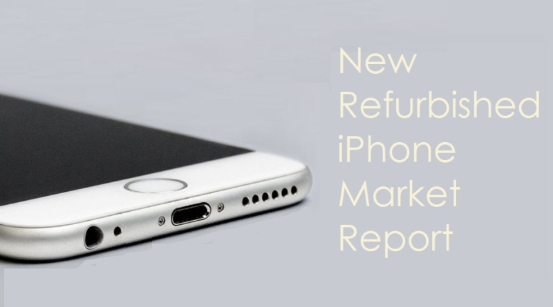 1 Cover - Refurbished iPhone market growth report