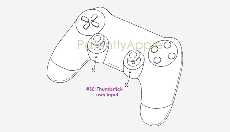 1 cover Game controller patent Apple