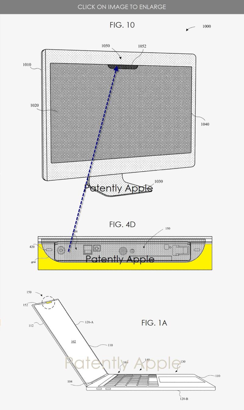 2 Face Id on Macs Apple patent figures