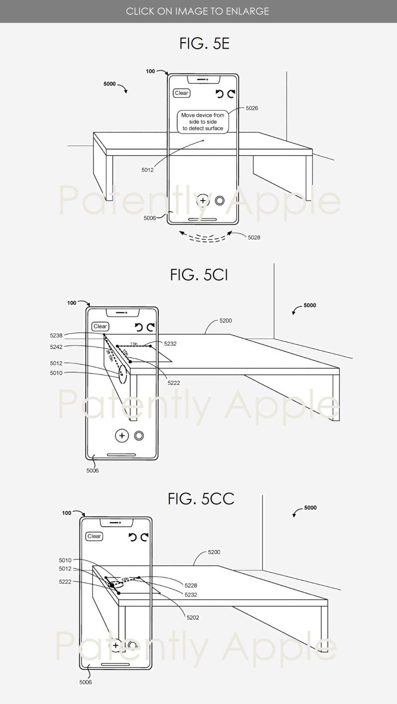 2 measuring app patent figures