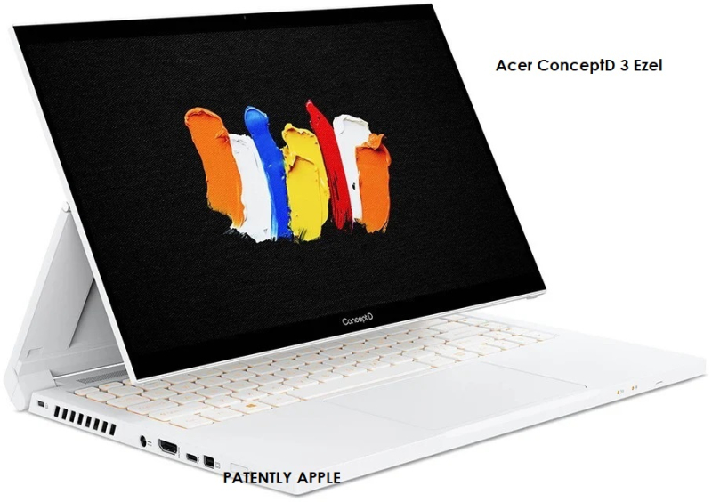 4 Acer Concept Notebook