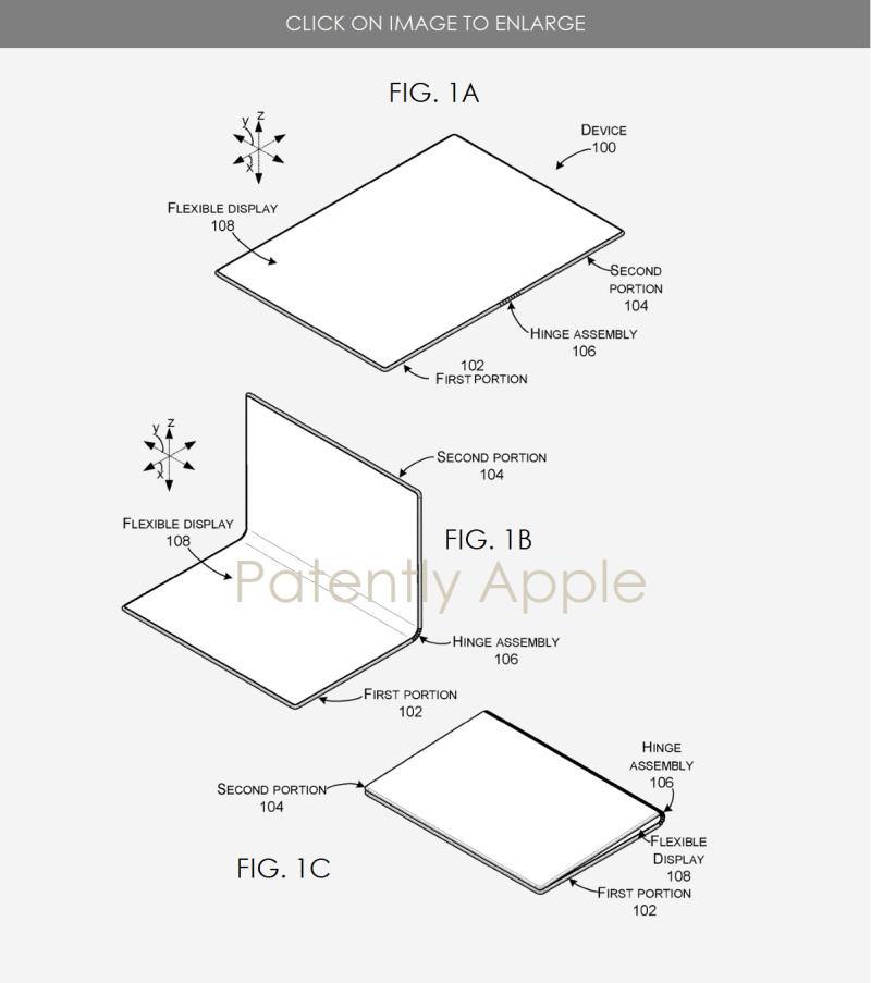 5 Microsoft patent - foldable tablet  hinge system