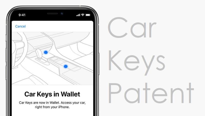 1 cover Car Keys  Apple Patent