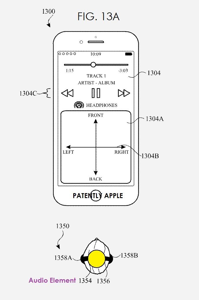 2 fig. 13a spatial audio patent figure