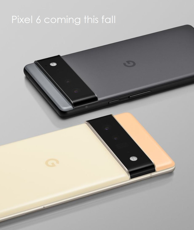3 Pixel 6 coming this fall