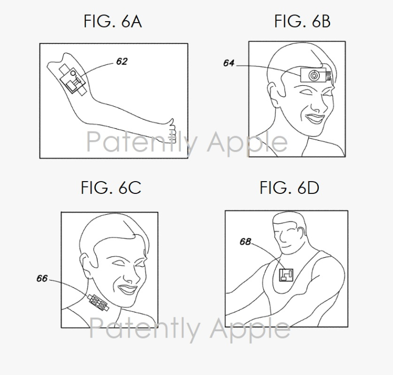 4 Facebook wearable patches