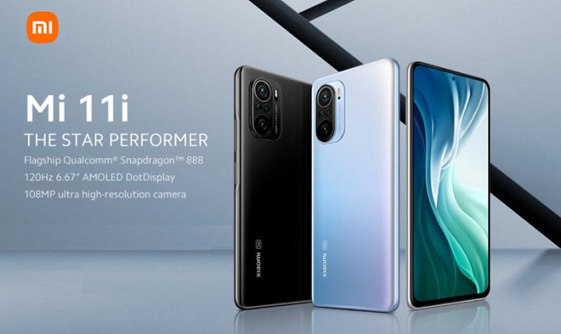 2 Xiaomi mi 11i
