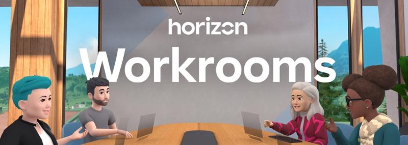 1 x Facebook  Horizon Workrooms