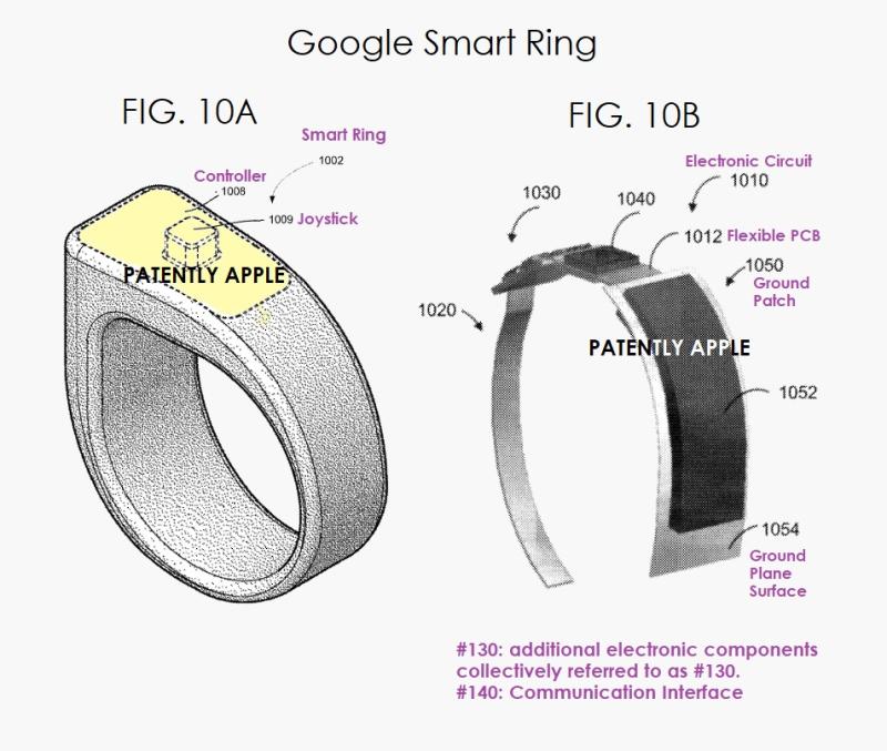 2 Google smart ring