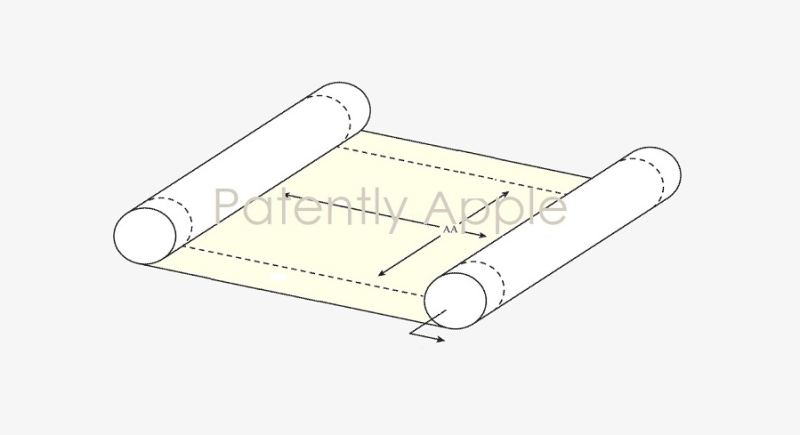 1 cover scrollable device patent
