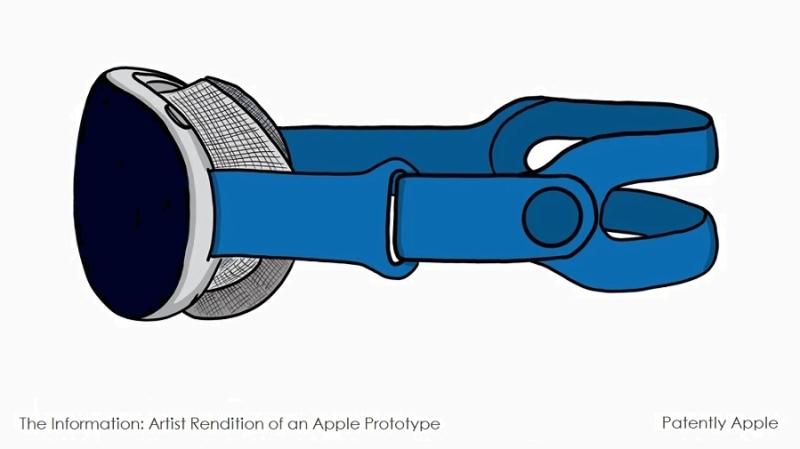 1 x HMD - cover - rendition of apple prototype