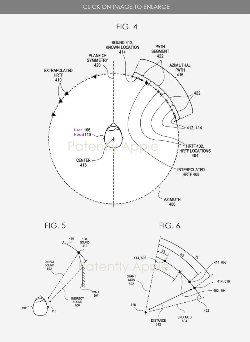 3 Audio patent granted  Apple patent figs