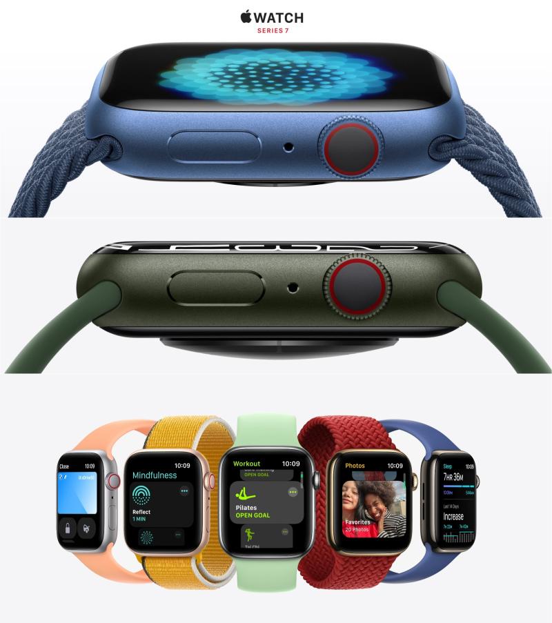 2 x Apple Watch 7 Design