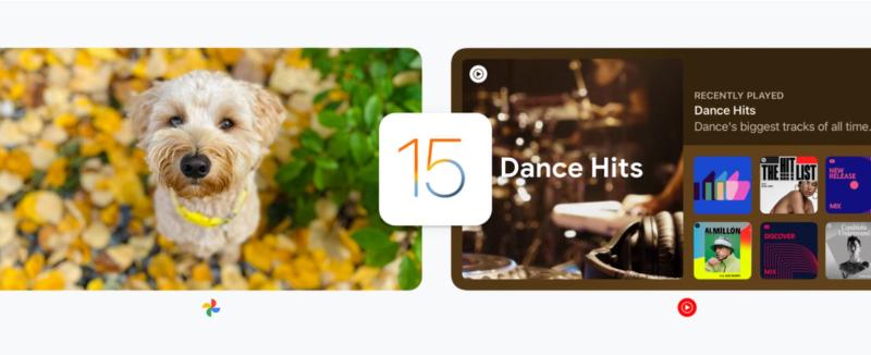 1 cover Google app updates for iOS 15