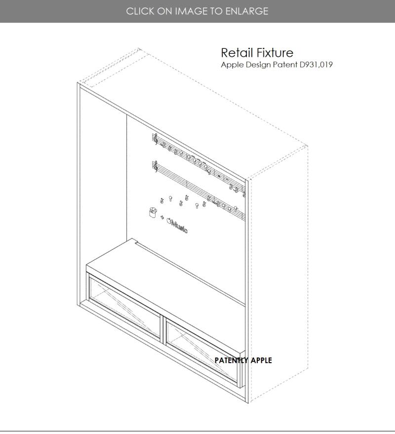 7 Retail Fixture design patent  apple inc