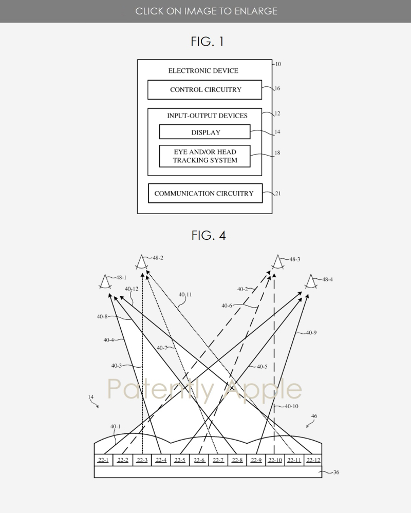 2 Lenticular Display Patent figs 1 and 4