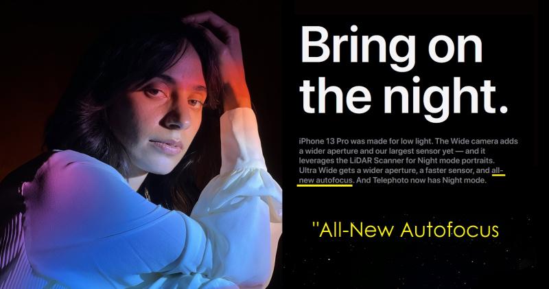 3x Apple iPhone 13 Pro brand new autofocus
