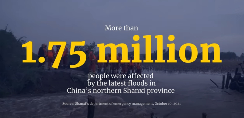 1 cover floods in Northern China