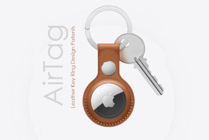 1 x cover AirTag accessory design patent report