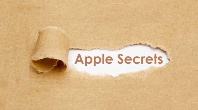 1 x cover  Apple Secrets