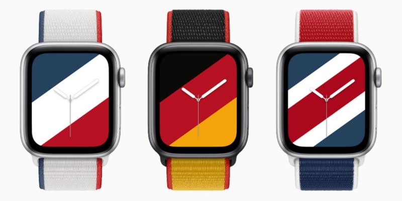 1 cover -Apple Watch bands and UI's for country