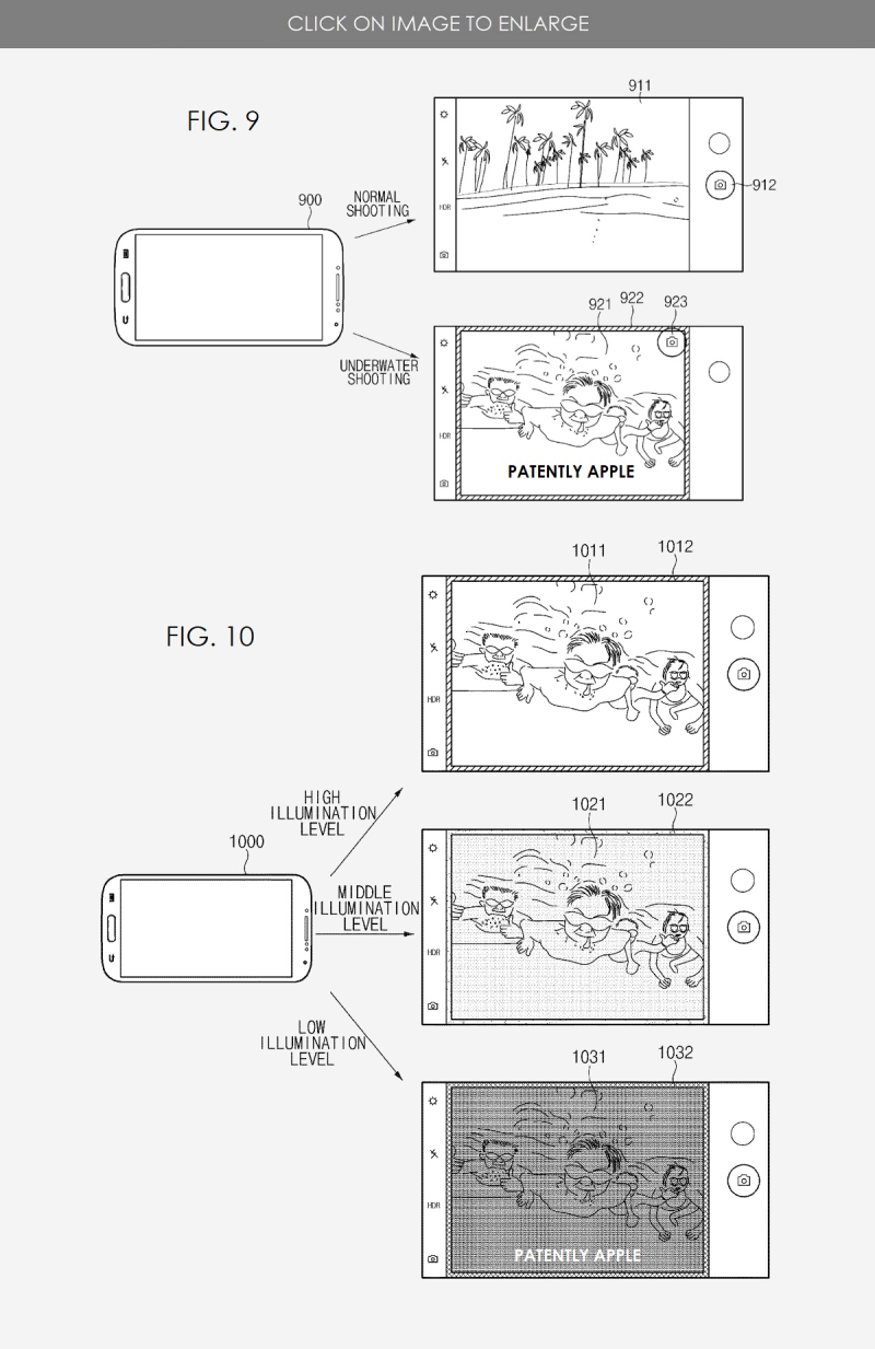 2 SAMSUNG UNDERWATER MODES FOR A POSSIBLE FUTURE GALAXY PHONE