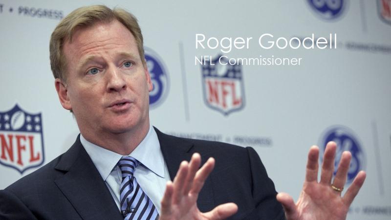 1 COVER Roger Goodell  NFL Commissioner