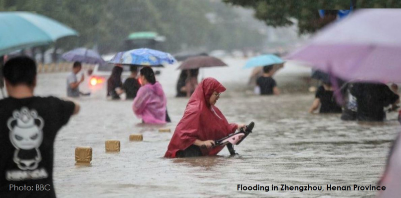 1 cover flooding in central China
