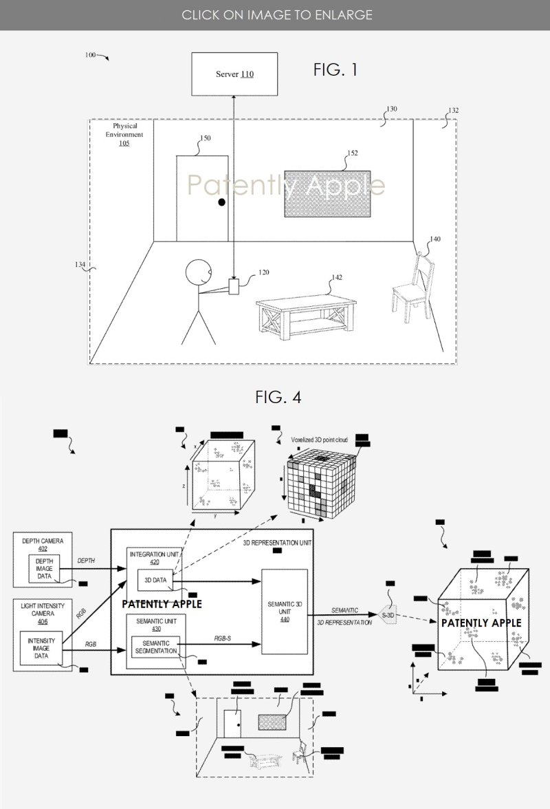 2 room scanning  ARKit patent figs