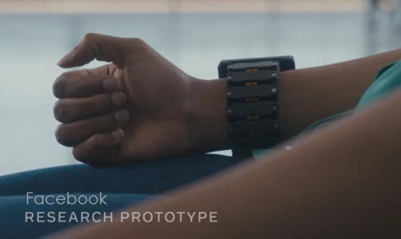 1 x cover Facebook wrist device patent