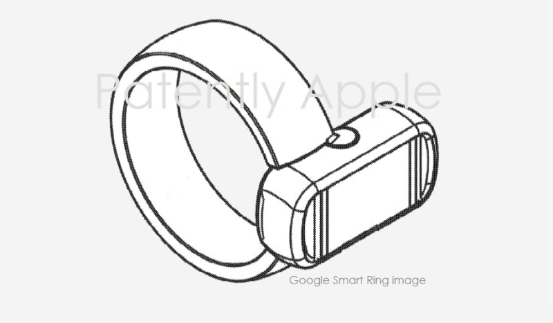 1 x cover - Google Smart Ring Patent