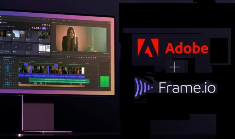 1 x cover Adobe - Frame. io