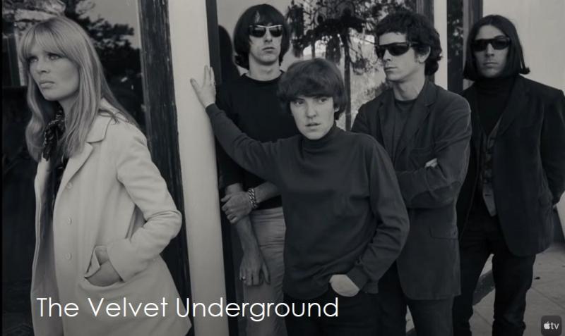 1 x cover  The Velvet Underground