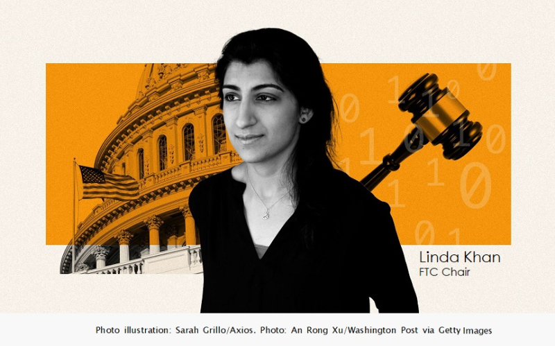 1 COVER - FTC Chair Lina Khan -