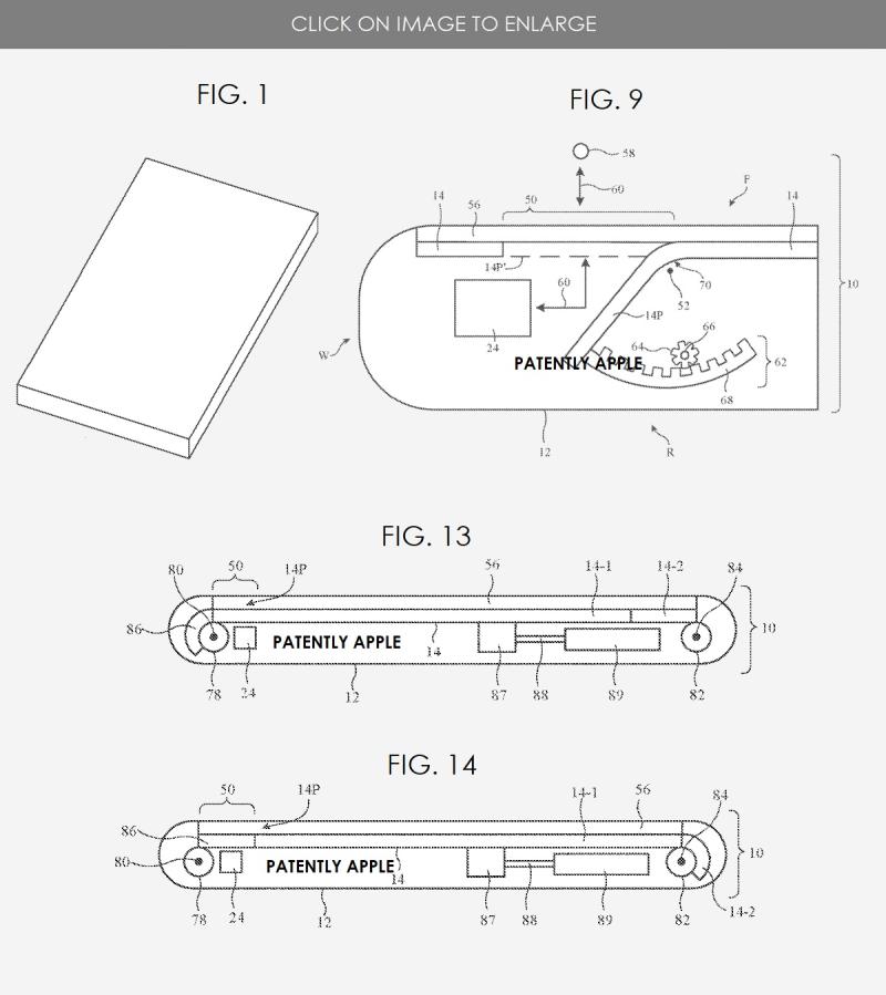 3. Apple patent  hiding truedepth camera