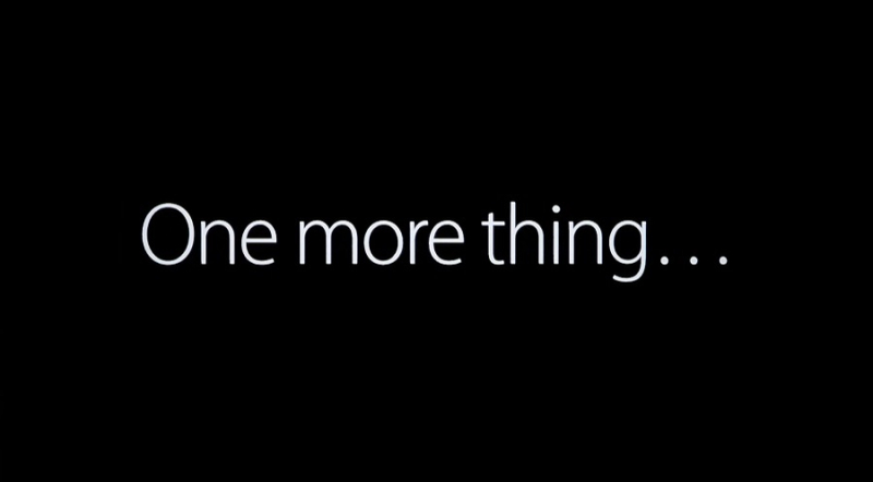 1 X cover - One More Thing
